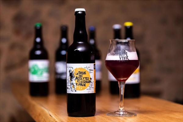 La bière des Vendanges des Acolytes,