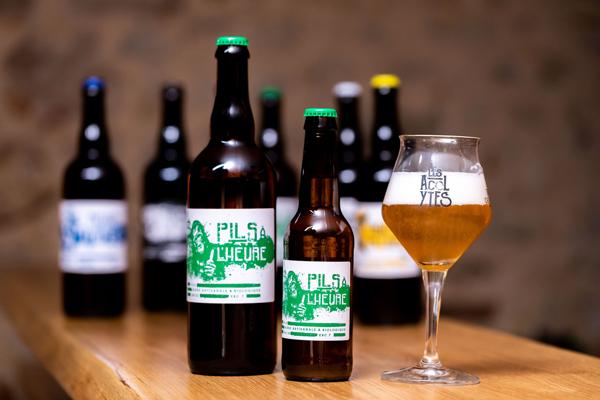 Pils à l'heure,bière des Acolytes